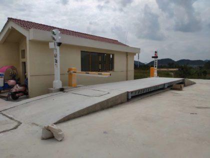 邦迈智衡科技-微波雷达在无人值守地磅系统的应用